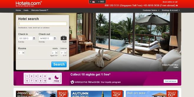 Hotels.com Coupons & Discount Codes